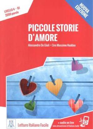 Imagem de PICCOLE STORIE D´AMORE - LIBRO + AUDIO ONLINE - NIVEL 4 (B1) - NUOVA EDIZIONE