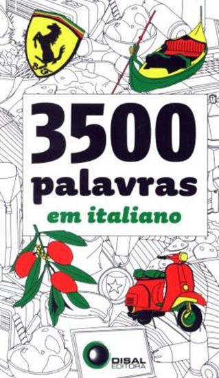 Picture of 3500 PALAVRAS EM ITALIANO