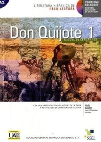 Picture of  DON QUIJOTE DE LA MANCHA 1 - LITERATURA HISPANICA DE FACIL LECTURA BASICO - LIBRO CON CD AUDIO