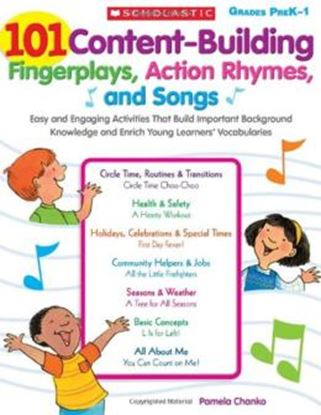 Imagem de 101 CONTENT-BUILDING FINGERPLAYS, ACTION RHYMES, AND SONGS