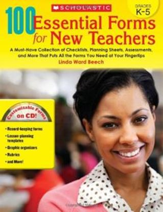 Imagem de 100 ESSENTIAL FORMS FOR NEW TEACHERS