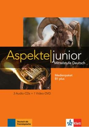 Imagem de ASPEKTE JUNIOR B1 PLUS - MEDIENPAKET (3 AUDIO-CDS + VIDEO-DVD)