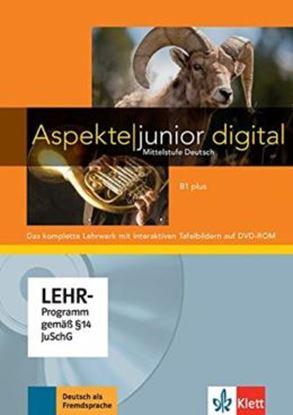 Imagem de ASPEKTE JUNIOR B1 PLUS - LEHRWERK DIGITAL MIT INTERAKTIVEN TAFELBILDERN
