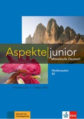 Imagem de ASPEKTE JUNIOR B2 MEDIENPAKET (4 AUDIO-CDS + VIDEO-DVD)