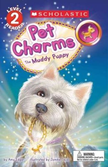 Picture of  MUDDY PUPPY - SCHOLASTIC READER, LEVEL 2 - PET CHARMS 1, THE