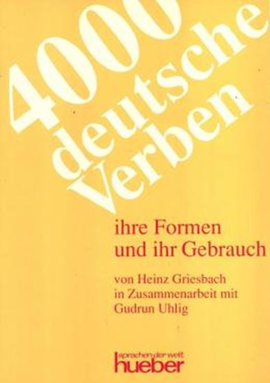 Picture of 4000 DEUTSCHE VERBEN
