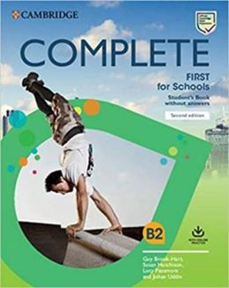 Imagem de  COMPLETE FIRST FOR SCHOOLS SB WITHOUT ANSWERS WITH ONLINE PRACTICE - 2ND ED.